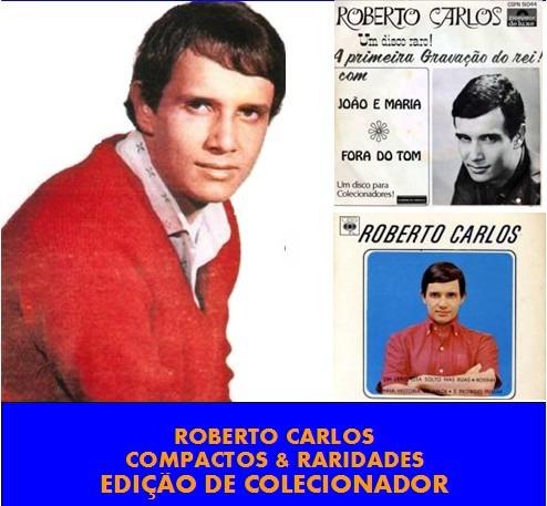 Cd Roberto Carlos - Compactos & Raridades