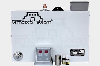 Generador De Vapor 8m3 Temazcal Steam