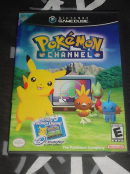 Pokémon Channel ( Nintendo Gamecube ) Completo, Rarissímo.