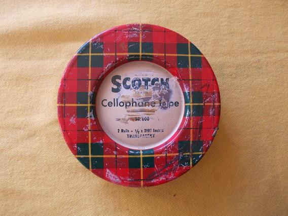 Lata Cinta Scotch. Diametro 13cm Usa (vacia)