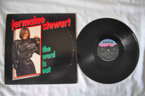 Jermaine Stewart, The Word Is Out, Maxi Single, Disco, Vinil