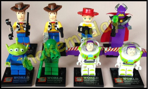 Toy Story Blocos De Montar Lego Woody Buzz Lightyear