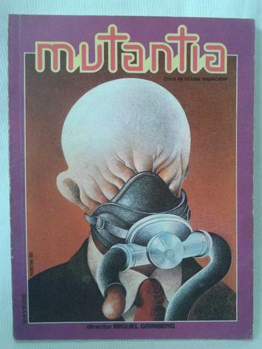 Imagen 1 de 3 de Revista Mutantia. Nº4 Miguel Grinberg. Ediciones Psiconauta