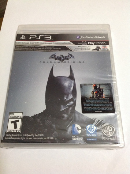 Batman Origins Collection Ps3