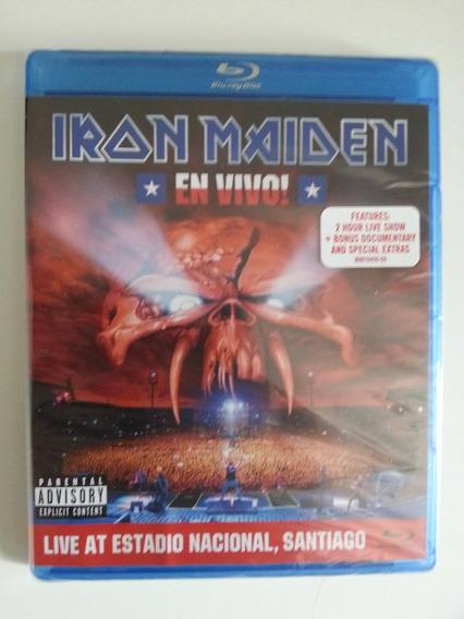 Blu-ray Iron Maiden En Vivo! (2012) Importado Novo Lacrado!!