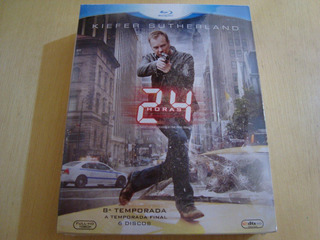 24hs Blu-ray 8ª Temporada 6 Discos - Novo Original Lacrado