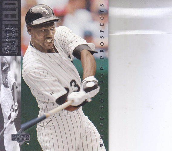 1993 Upper Deck Top Prospect Michael Jordan White Sox