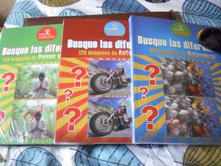 Juegos De Mente Las Diferencias 3 Tomos Envio Gratis