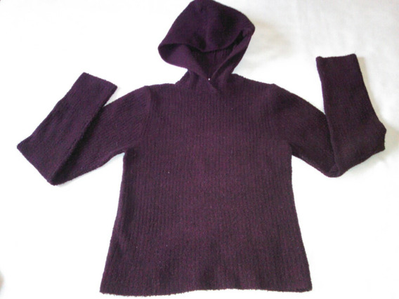 Sweter Pullover Cacharel Con Capucha Xs