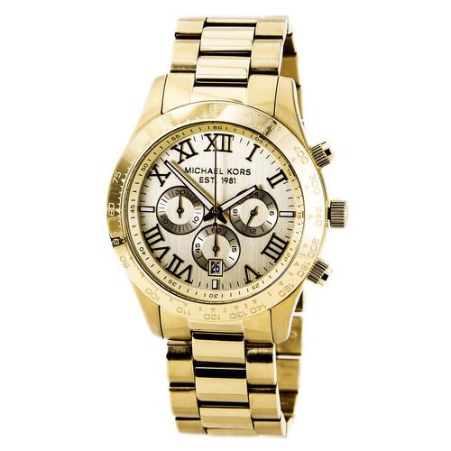 Relógio Michael Kors Mk8214 Layton Orig Chron Anal Ed.lmtda