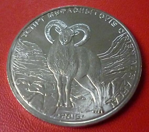 Kazajistan Moneda Ovis Orientalis Arcal 50 Tenge 2015