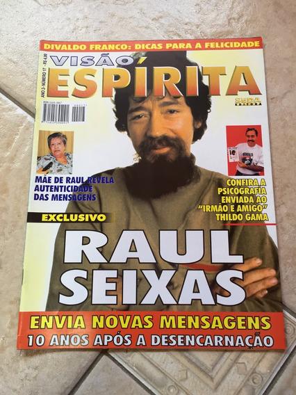Revista Visão Espírita 17 Raul Seixas Gilberto Gil 1999 D334