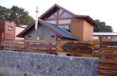 Cabaña Con Piscina En Gesell Casa Goc Cabañas Del Arbol