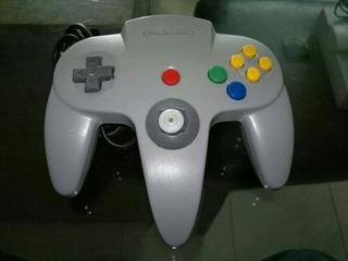 Control Original Para Nintendo 64,las Palanquitas Estan Bien