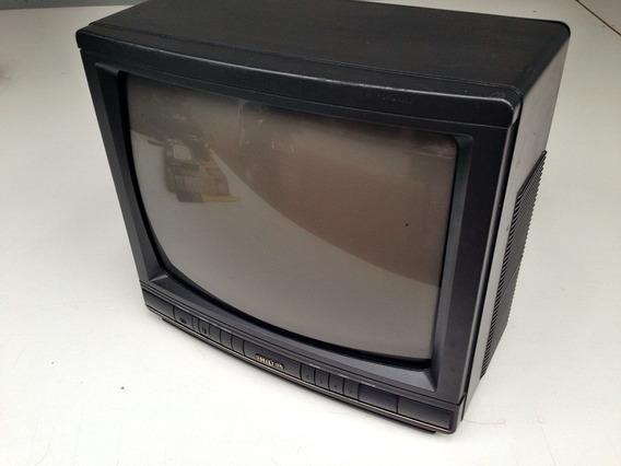 Televisor Philips Antigo 14 Polegadas Funcionando Leia!!