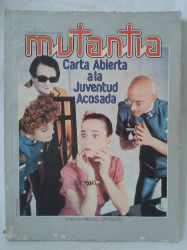 Imagen 1 de 3 de Revista Mutantia 7 Miguel Grinberh Psiconauta