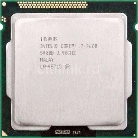Processador Intel Core I7 2600 2ª Geração Lga 1155