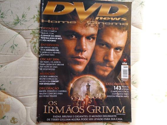 Revista Dvd News Os Irmãos Grimm * Frete Grátis*