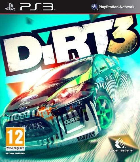Dirt 3 Playstation 3 , Codigo Psn !!!