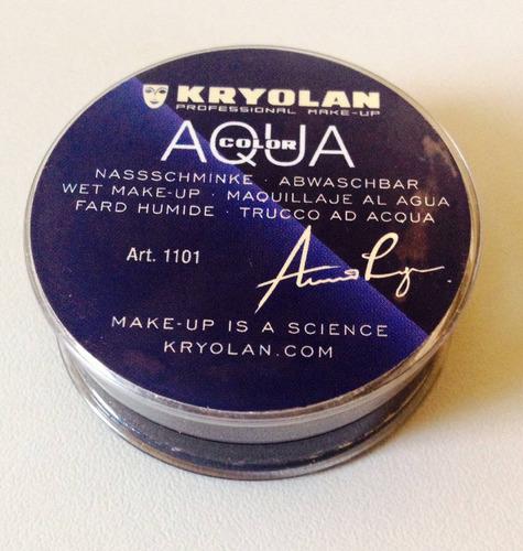 Kryolan Delineador Marrom Aquacolor - Pote Grande