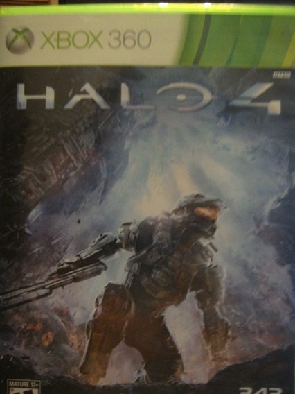 Jogo Game Halo 4 Usado Xbox 360