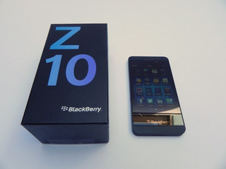 Celular Blackberry Z10 Bb Y Caja Blackberry Z10 Impecable 9