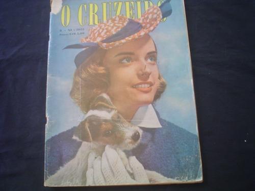 Revista O Cruzeiro -chico Alves=zizinho-ademir-1952-melhor $