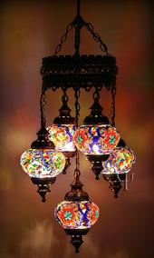Lustre De Mosaico Turco 05