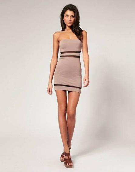 Vestido Sexy Tule Illusion Importado Pronta Entrega Brasil