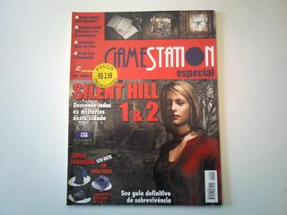 Revista Gamestation Silent Hill 1 E 2 Especial