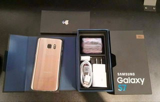 Samsung Galaxy S7 32gb 4g Gold Platinum, Novo Na Caixa