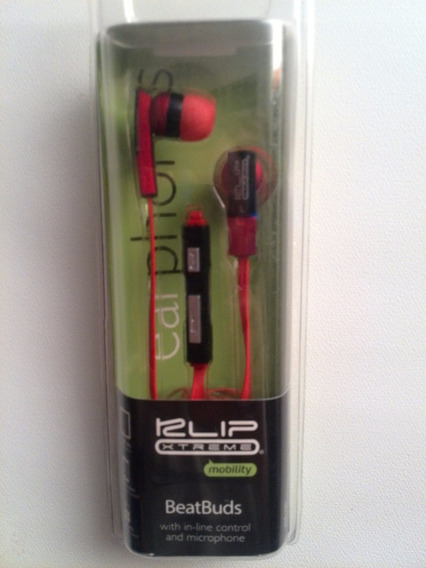 Klip Xtreme Audífonos Micrófono Beatbuds Alámbrico Kns-220