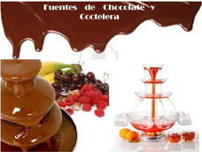 Alquiler Fuente De Chocolate,coctelera,colchon,cama Elastica
