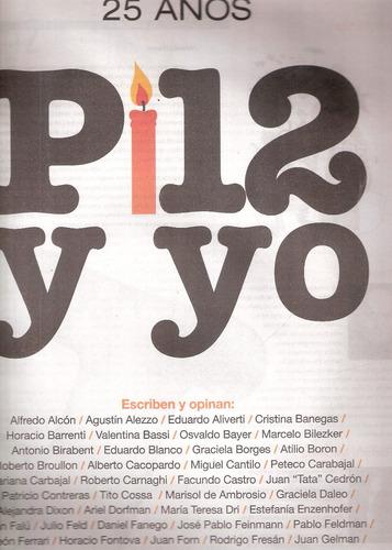 Diario Y Revista Pagina 12 - 25 Años