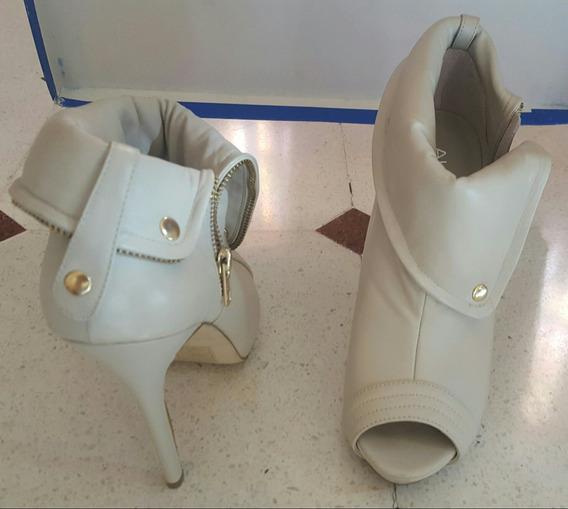 Zapatos Botas Cuero 100 % 24 Cm Plantilla Orig Nro 37/8