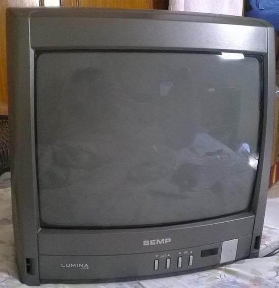 Tv 14 Semp Toshiba Tubo (para Vídeo Game E Dvd)