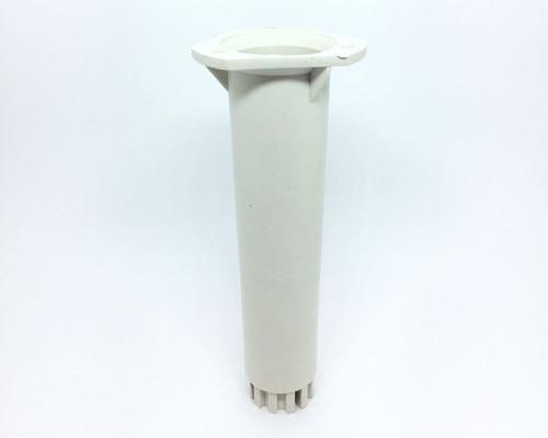Imagem 1 de 4 de Kit 4 Pé Para Armário Itatiaia Branco Regulável 17-21cm