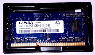 Elpida 4gb 2 X 2gb 1rx8 Pc3 Ddr3 Laptop Memory Mac