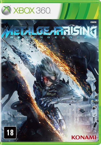 Metal Gear Rising Revengeance - Xbox 360 - S. G.
