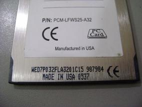 Cartão Memoria Flash Pcmcia Linear 32 Mb, Cnc Formatado Fat