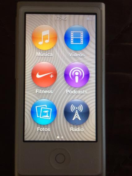 iPod Nano - Ótimo Estado - Pouco Usado - Cor Prata