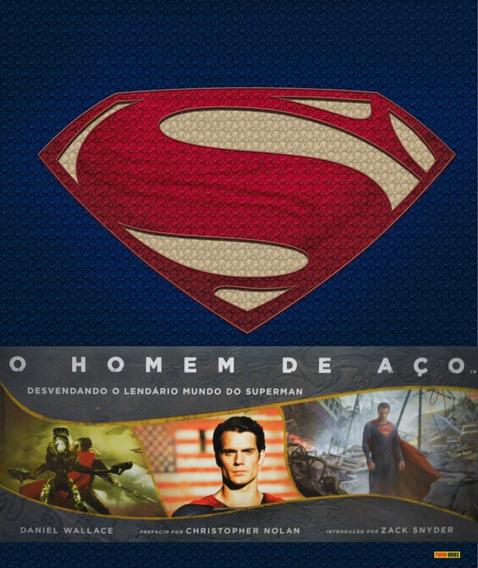 Livro O Homem De Aço Lendário Mundo Do Superman Frete Grátis
