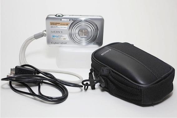 Câmera Digital Sony Cybershot Dsc Wx30 (fotos 3d; Full Hd)