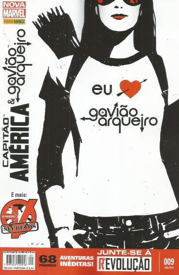 Capitao America 09 Nova Marvel 9 - Bonellihq Cx89 G19