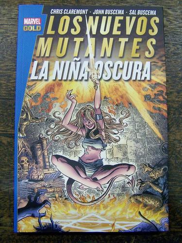 Imagen 1 de 6 de Los Nuevos Mutantes * La Niña Oscura * Claremont Y Buscema