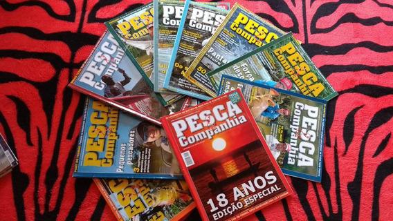 Lote Com 32 Revistas Pesca & Cia E Pesca Esportiva