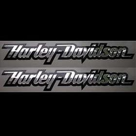 Emblema Harley Davidson -par- Resinado - Frete Grátis