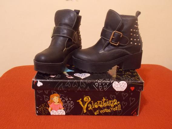 Botas Para Nena Con Plataforma Valentina Nº 33