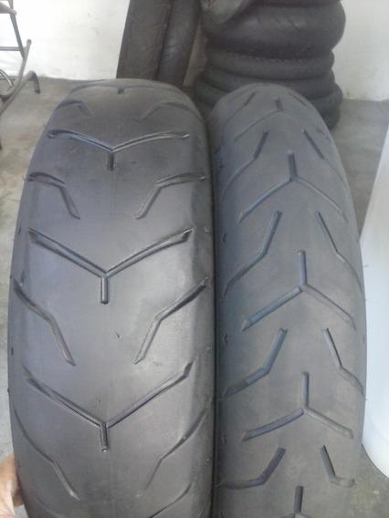Pneus 130/80b17 E 180/65b16 Dunlop Harley Davidson Usados