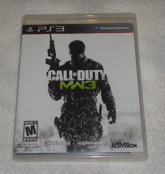 Call Of Duty Mw3 Ps3 ** Frete Gratis Leia